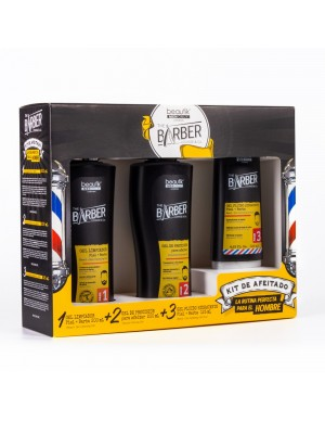 Set Barber: Gel Limpiador +...